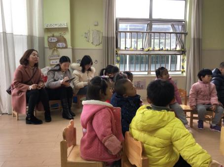 游佳,颜昱珊老师观摩幼儿园中班社会领域活动